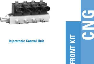 Injectronic Control Unit FRONT KIT CNG