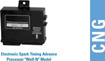 "Electronic Spark Timing Advance Processor ""Wolf-N"" Model CNG"