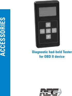 Diagnostic had-held Tester for OBD II device ACCESSORIES