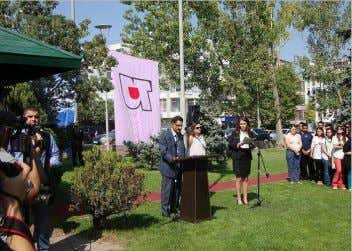 OCTOBER 2012 2012 PEACE BELL CEREMONY AT BOTANICAL PARK International Peace Day was commemorated on September