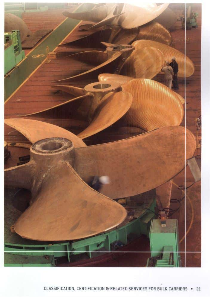 of the interaction between the propeller and the hull It also includes guidance on the vibration