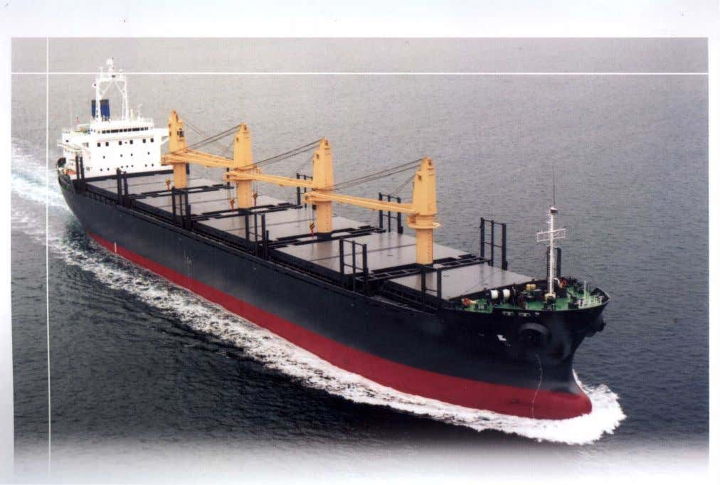 Maneuvering To assist owners to quantify and document the maneuvering characteristics of a bulk carrier,