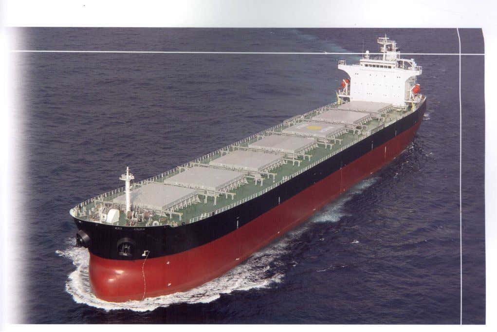 Optional Notations for Bulk Carriers Although the requirements for several of the ABS optional notations