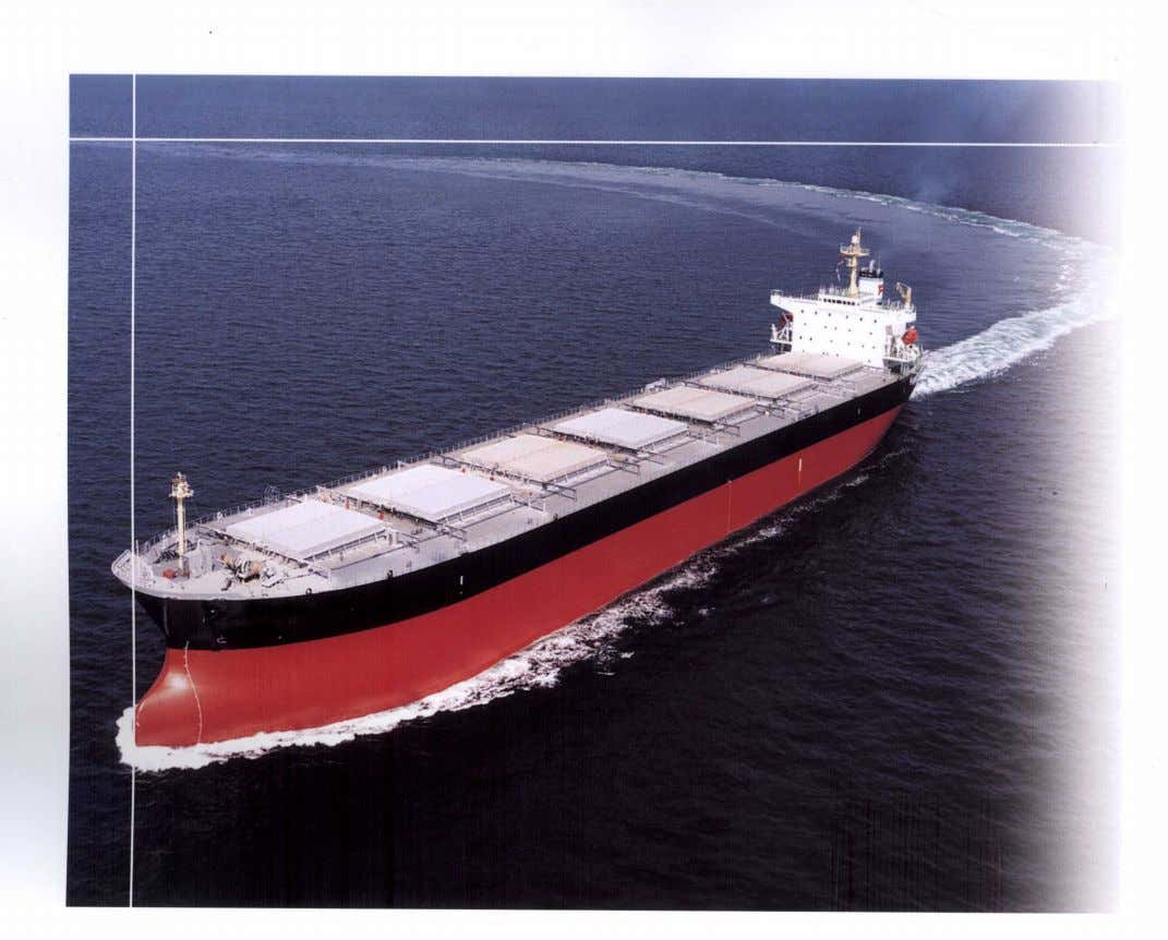Bulk Carrier Classification - the ABS Advantage The ABS experience, technology and services outlined in