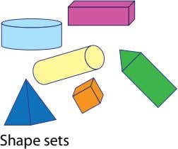 Shape sets