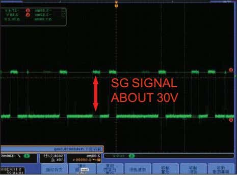 SG SIGNAL ABOUT 30V