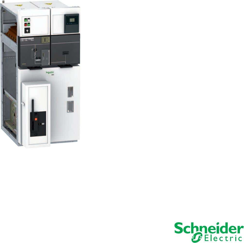 Medium Voltage Distribution Catalogue | 2011 SM6 Modular units Air insulated switchgear up to 36 kV