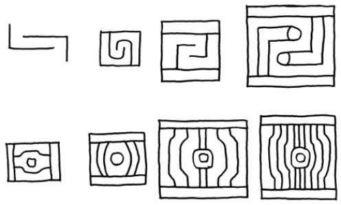 21 FIGURE 9. PAQARINAS IN TIWANAKU IMAGERY (CONTINUED) G I H J G: D ETAIL OF