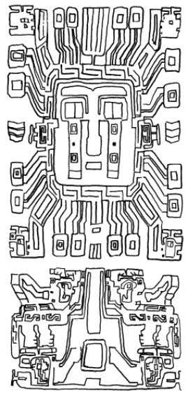37 FIGURE 19. INCA AND TIWANAKU MOUNTAIN IMAGERY A C B D A: D ETAIL OF