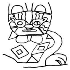 41 FIGURE 23. PUCARA AND TIWANAKU FELINE IMAGERY A BC D E A: P UCARA STYLE