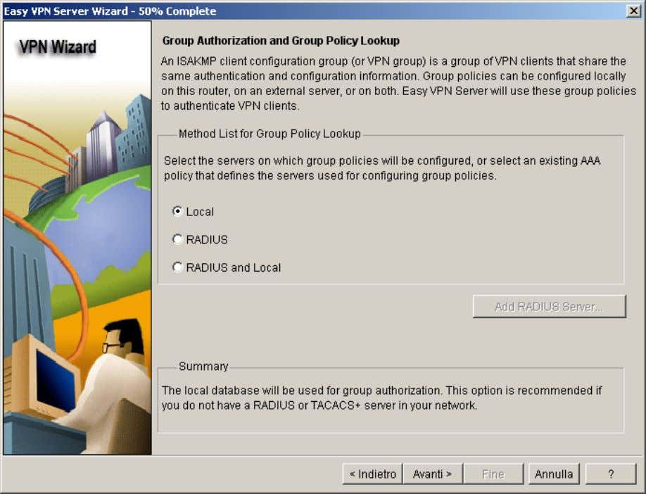 Now define the group authorization and user group policies .
