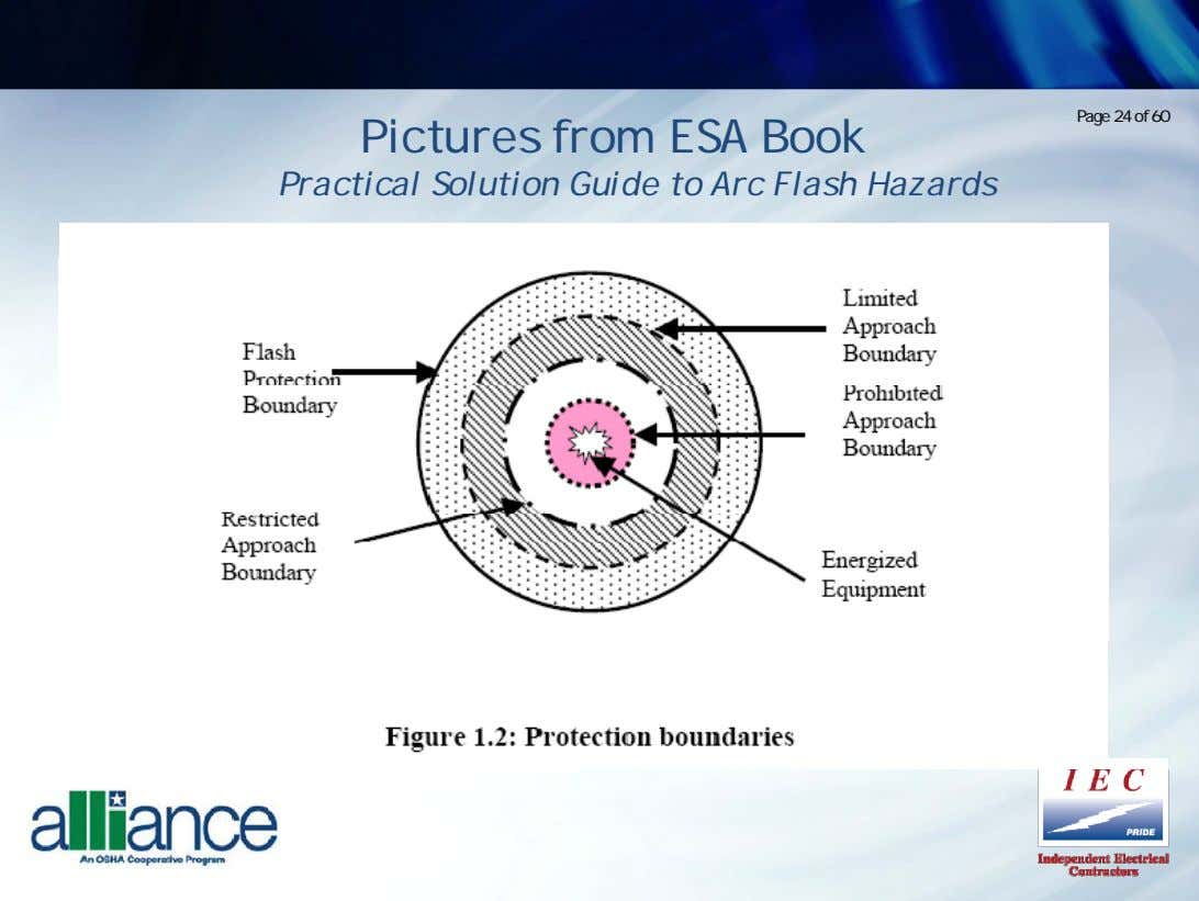 Page 24 of 60 Pictures from ESA Book Practical Solution Guide to Arc Flash Hazards