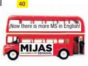 40 ¡Now there is more MS in English!