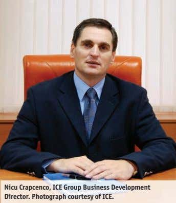 Nicu Crapcenco, ICE Group Business Development Director. Photograph courtesy of ICE.