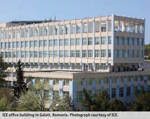 ICE office building in Galati, Romania. Photograph courtesy of ICE.