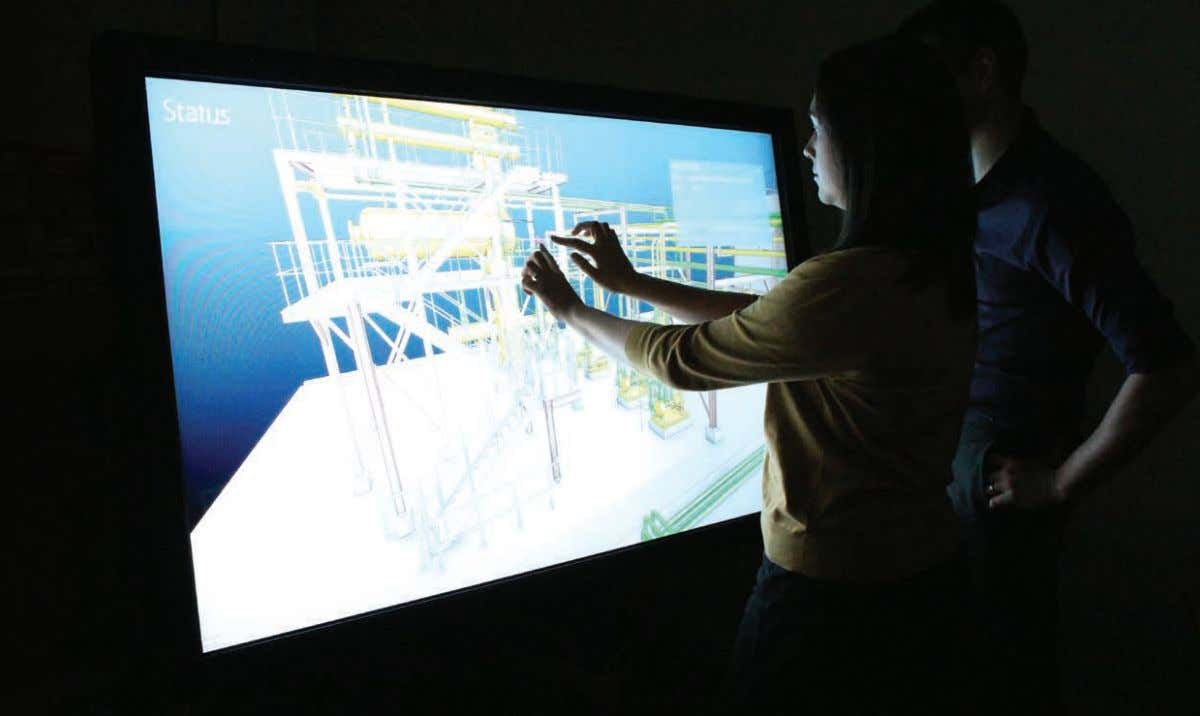 The solution AVEVA E3D Insight™ is a Windows 8.1 app that meets these requirements, enabling