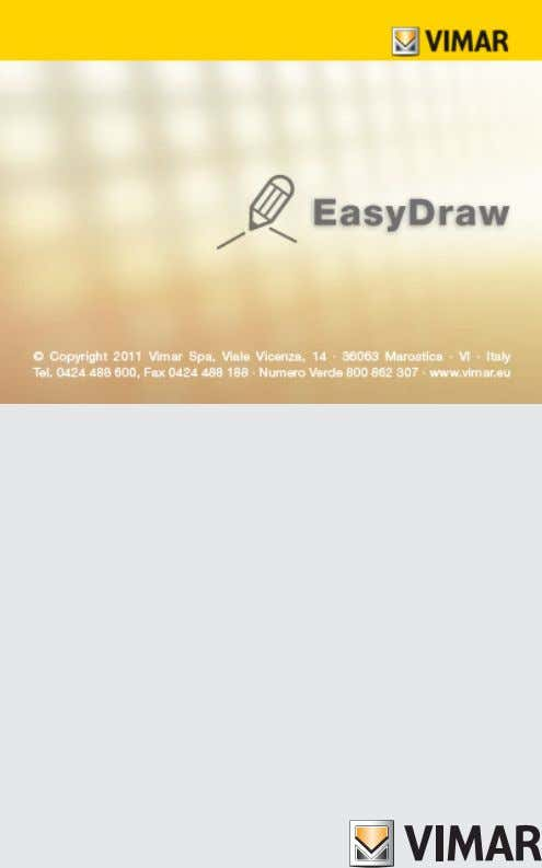 01991-01992 Software EasyDraw Manuale d'uso