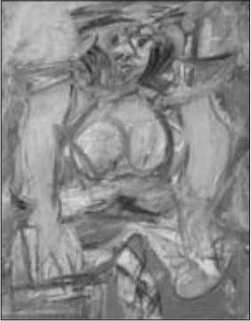 process from the artist's or musician's experience. Willem de Kooning's Woman of Sag Harbor IV Woman