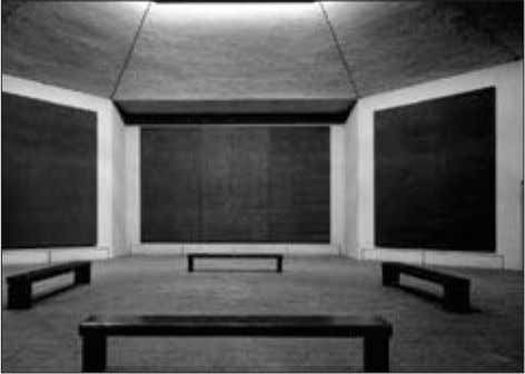 on color and lightly brushing the canvas surface. Mark Rothko's The Rothko Chapel Mark Rothko: paintings,