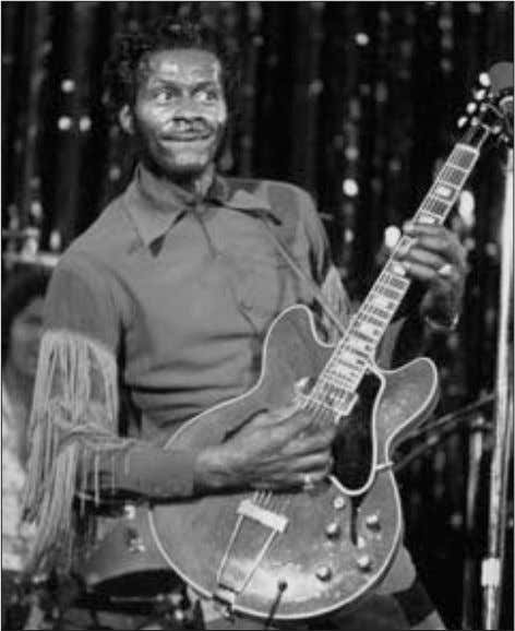 had become history. Chuck Berry Contemporary Art Culture 37 Chuck Berry © Lynn Goldsmith/Corbis and roll