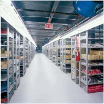 the absolute best use of available space, resulting in increased productivity and cost savings. 2 About