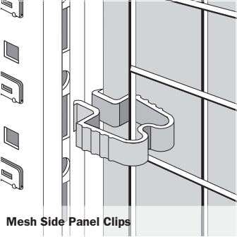 Mesh Side Panel Clips