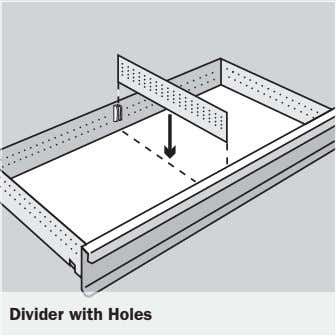 Divider with Holes
