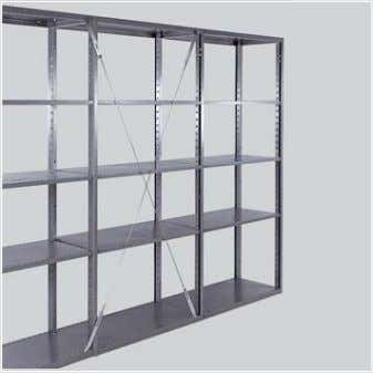 "which accounts for roughly 90 percent of all installations. Cross Bracing Bay Height 85.5"" Bay Width"
