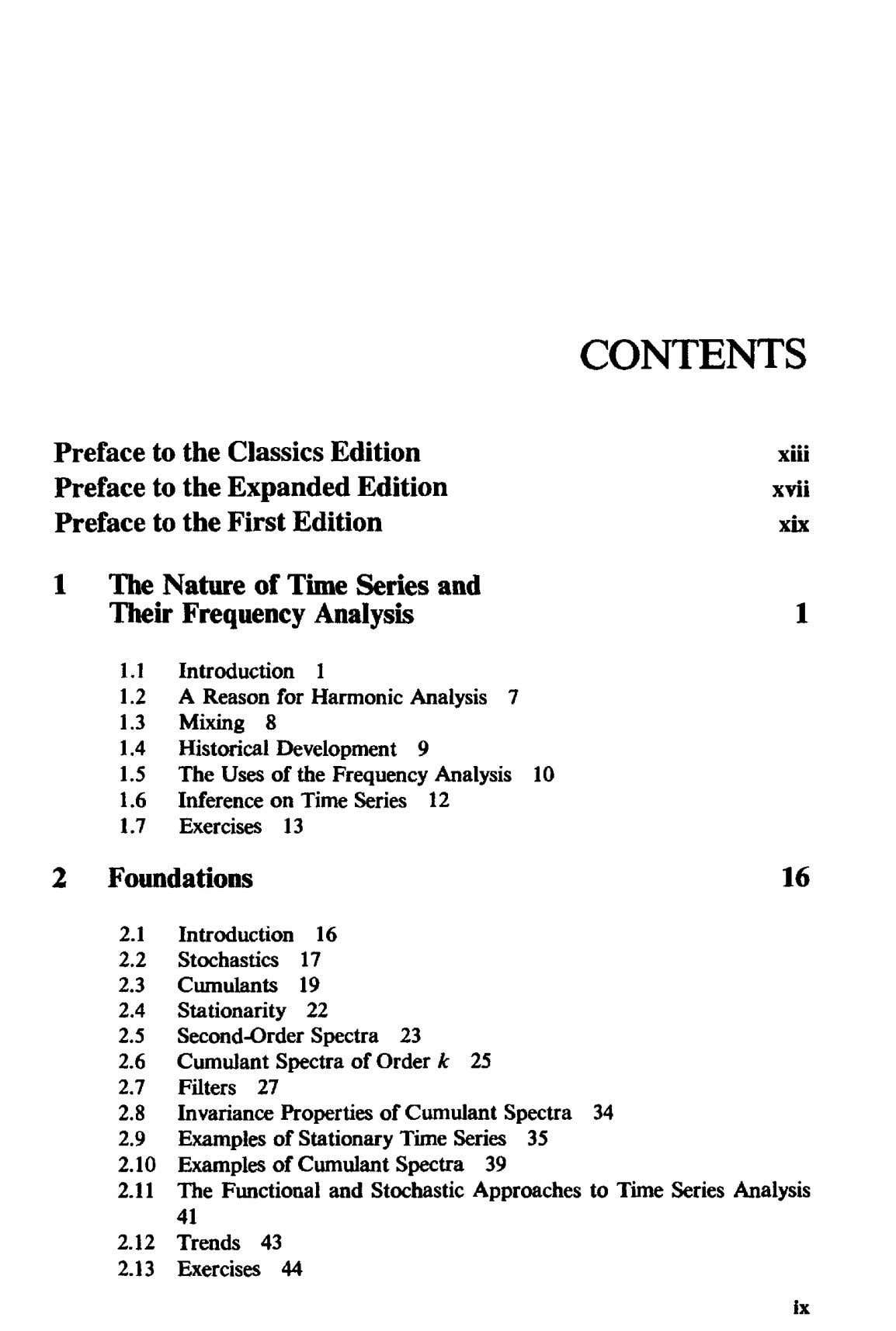CONTENTS Preface to the xiii Preface to the to the Classics Edition Expanded Edition First