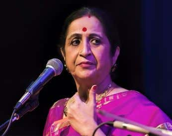 was Smt. Aruna Sairam's experience during her concert at Cleveland. She had been down with cold