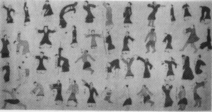 treat; over half of these postures are animal movements. 2 Illustration of Medical Qigong postures from