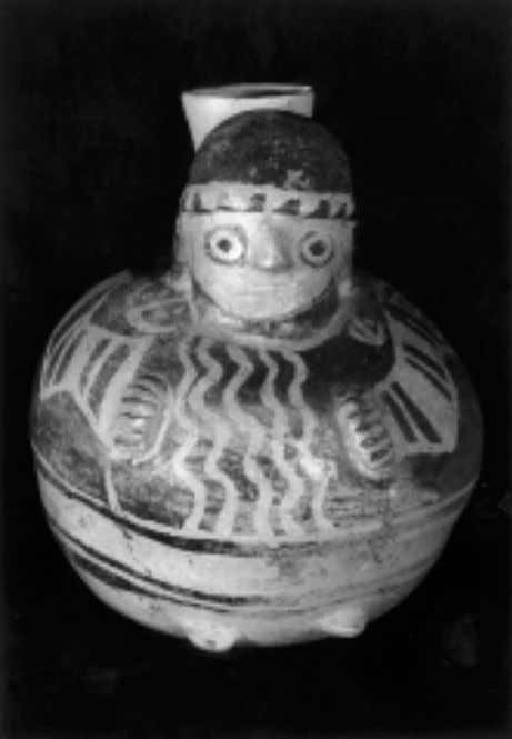 Joan M. Gero Fig. 5 Recuay vessel depicting a fe- male. Photograph courtesy of the Lin-