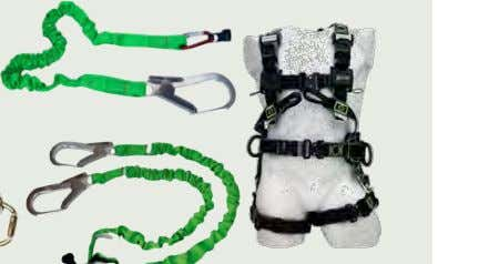 Exercise :    Harness    Fall Arrester    vertical Sliders/gliders    Adjustable