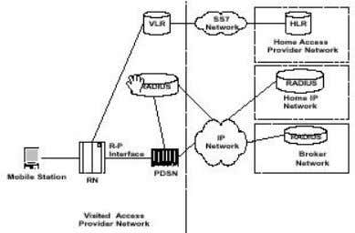 illustrates a Simple IP and Mobile IP network respectively. Figure 12: Simple IP Network Figure 13: