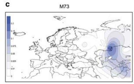 20 Figure 14. M269 by Myres et al. 2010. Figure 15. M73 by Myres et al.
