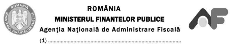 Se arhivează: la organul fiscal. ANEXA Nr. 12 ANNEX No 12 Adresa: Address E-mail: E-mail address