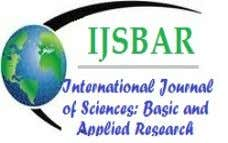 International Journal of Sciences: Basic and Applied Research (IJSBAR) ISSN 2307-4531