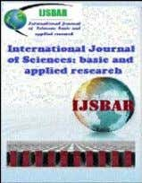 Sciences: Basic and Applied Research (IJSBAR) ISSN 2307-4531 http://gssrr.org/index.php?journal=JournalOfBasicAndApplied