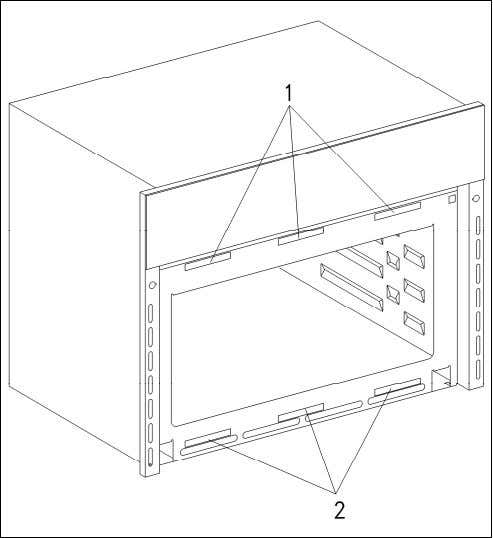 H 408x BM Technical Information Figure 011-7: Magnetic Strips Figure 011-8: Door Safety Switches 1 Safet