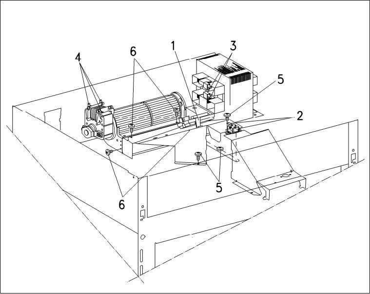 H 408x BM Technical Information Figure 012-5: Rear Air Duct Removal Danger! After installation is completed,
