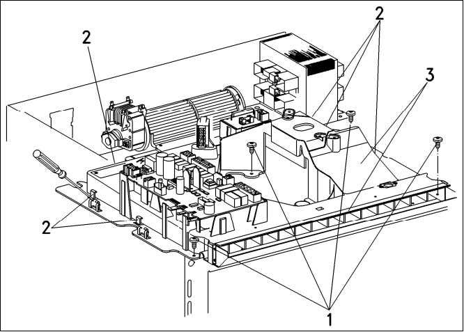 the ducting. 14. Remove the air duct (Figure 012-7, Item 3). Figure 012-7: Air Duct Removal,