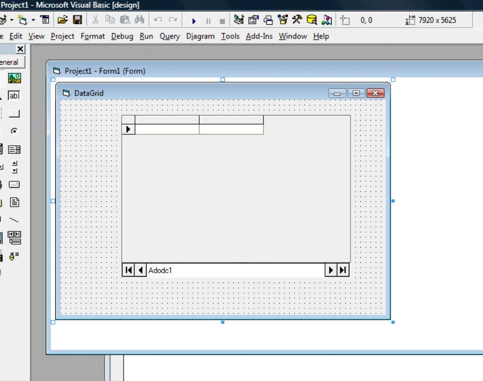 Before you proceed , you need to create a database file using Microsoft Access. Here