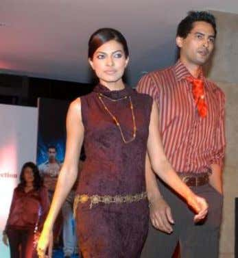 out women's range to dress men better Bindu D. Menon Models showcase Blackberrys autumn winter collection