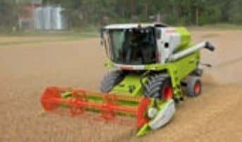 harvesting technology which adapts to any local conditions. CROP TIGER 40 TERRA TRAC. A real money
