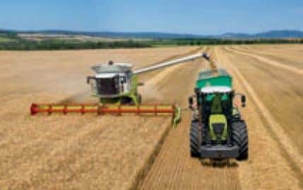 CLAAS. At home in fields all over the world. The German company CLAAS is a