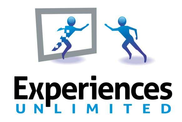 web, mobile and tablet CONNECT  @JimWexler  jim@experiencesunlimited.com  In Flatiron District (New York) 15