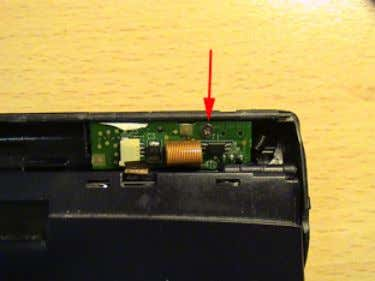 entire battery pack and circuit board can now be removed. 9. There may be some glue