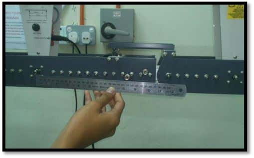 CC205 ~ LAB MECHANIC OF STRUCTURES PROCEDURE: i. Check the Digital Force Display meter reads zero