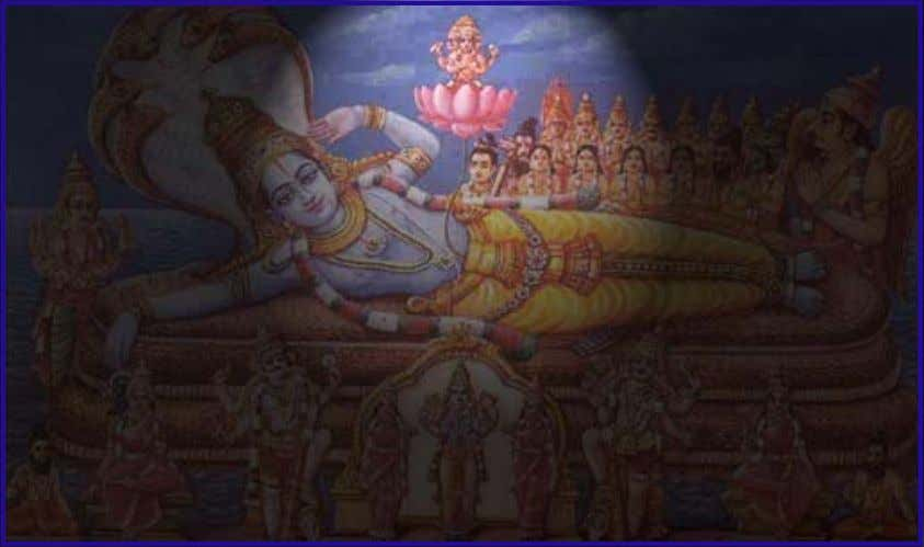 """The Divine Naabhi"" ""The beautiful navel that can create many Brahma DEvans"""