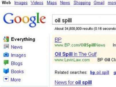spill, oil disaster. The company is payed as much as 10K per day to maintain its